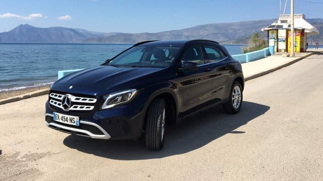 Mercedes commercialise depuis ce mois d'avril la version restylée du GLA, dévoilée au salon de Détroit en janvier.