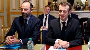 Edouard Philippe et Emmanuel Macron, le 11 décembre 2018.