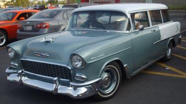 La Chevrolet Nomad est au début des années 50 l'un des premiers shooting breaks, avec seulement deux portes. Un vrai break coupé.