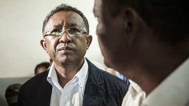 Le président malgache.