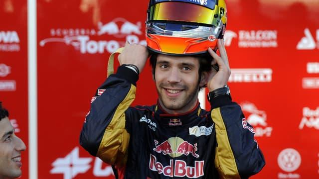 Jean-Eric Vergne, pilote chez Toro Rosso