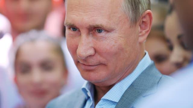 Poutine, en 2018.