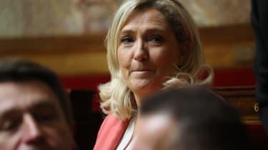 Marine Le Pen à l'Assemblée nationale, le 14 janvier 2020