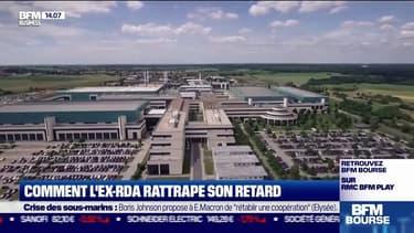 Comment l'ex-RDA rattrape son retard