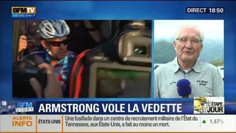 Tour de France 2015: Lance Armstrong a couru deux étapes pour une association de lutte contre le cancer