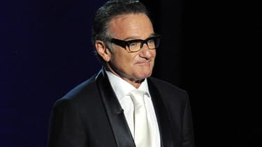 Robin Williams lors de la cérémonie des Emmy Awards, en 2013.