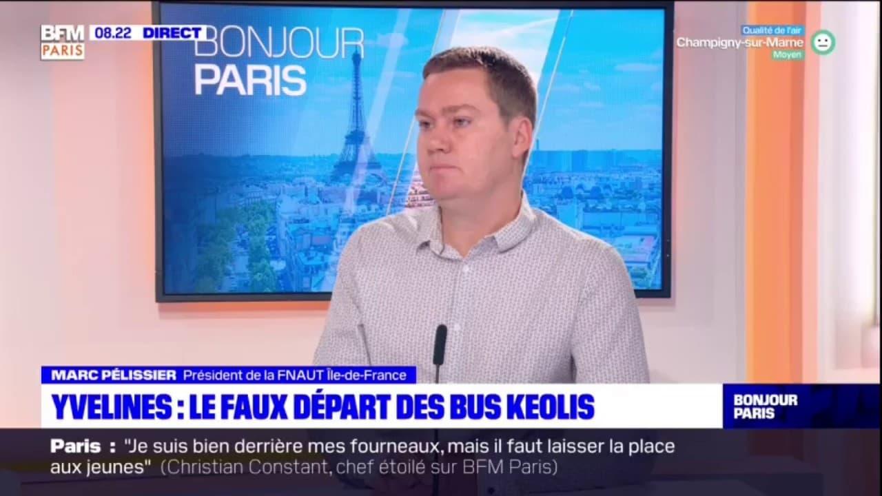 """Réseau de bus dans les Yvelines: """"visiblement ça a été mal organisé entre Transdev et Keolis"""""""