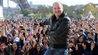 Cauet à Paris en novembre 2012