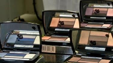 Les fards à paupières Lancôme sont produits à l'usine L'Oréal de Lasigny, dans le Nord de la France