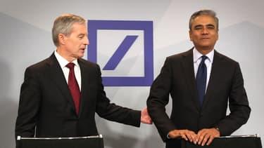 Les deux co-directeurs de Deutsche Bank ne laisseront pas un bilan mémorable derrière eux