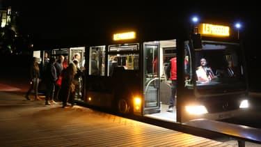 Des bus de nuit en juin 2017 (Photo d'illustration).