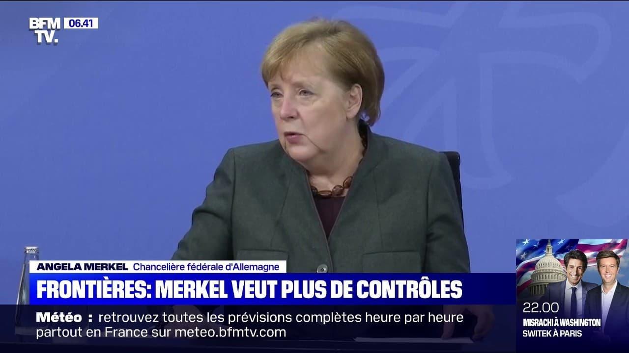 L'Allemagne n'exclut pas des contrôles entre pays de l'Union européenne face au variant