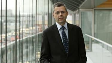 Michel Combes, PDG d'Alcatel-Lucent,
