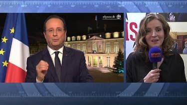 Nathalie Koscuisko-Morizet sur BFMTV mardi 31 décembre