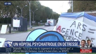 """Une journée de mobilisation est ainsi prévue samedi par des salariés mobilisés pour """"défendre les soins et l'humanité en psychiatrie""""."""