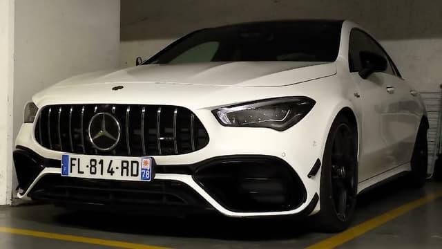 La Mercedes CLA dans sa version la plus puissante, l'AMG 45S.