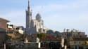 Notre-Dame de la Garde, à Marseille (Bouches-du-Rhône)