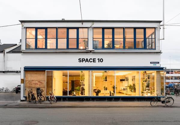 La laboratoire Space10 situé à Copenhague dans un ancien bâtiment de pêcheurs.