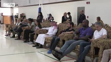"""La délégation """"Paris 2024"""" en visite dans un lycée français au Qatar"""