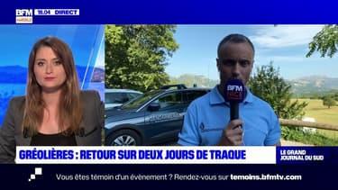 """Gréolières: le Colonel Jean-Michel Doose, adjoint au Commandant du groupement de gendarmerie des Alpes-Maritimes, annonce que """"des contestations sont en cours"""" pour déterminer s'il s'agit du corps du fugitif recherché depuis le week-end dernier"""