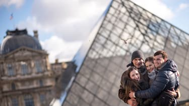 Les collections permanentes du Louvre ont accueilli, en 2014, 100.000 visiteurs de plus qu'en 2013.