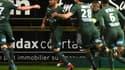 Mathieu Debuchy célèbre un but face à Amiens - AFP