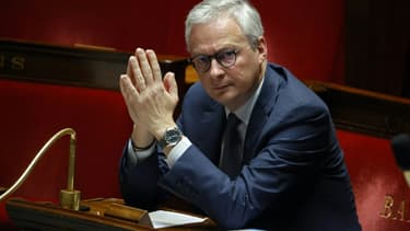 Bruno Le Maire à l'Assemblée nationale le 17 avril 2020