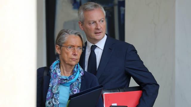 Les ministres de la Transition écologique et de l'Economie Elisabeth Borne et Bruno Le Maire pourraient déposer un amendement pour revoir le plafond maximal du malus.