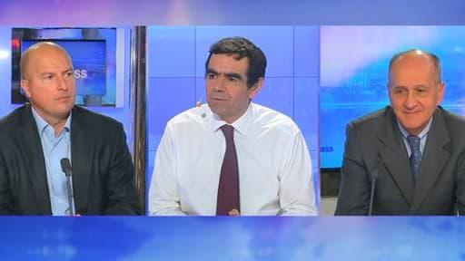 Yann Coléou, directeur général de Korian (à gauche) et Jacques Bailet, PDG de Medica (à droite), étaient tous les deux les invités de Stéphane Soumier.