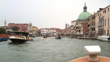 L'accident est survenu sur ce canal de Venise.