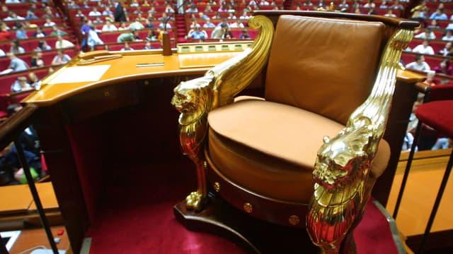 Le perchoir est libre depuis la nomination de François de Rugy au ministère de la Transition écologique.
