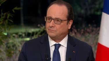 """Selon François Hollande, le réseau des attentats de Paris et Bruxelles """"en voie d'être anéanti""""."""