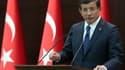 Le Premier ministre turc Ahmet Davutoglu