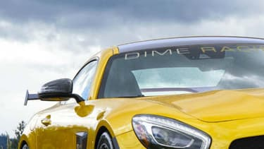 Avec ses 755 chevaux, cette AMG GT est aujourd'hui la version la plus puissante de la sportive commercialisée.