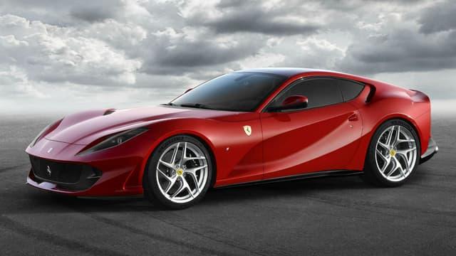 Ferrari vend ses voitures en moyenne 279.978 euros, soit un peu moins que le prix de départ de la dernière 812 Superfast ici en photo.