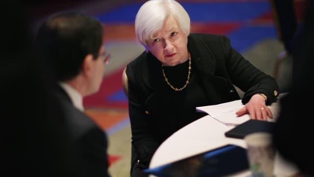 La Présidente de la Réserve Fédérale Américaine, Janet Yellen, ne peut que constater l'instabilité de la reprise américaine.