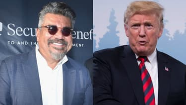 George Lopez et Donald Trump