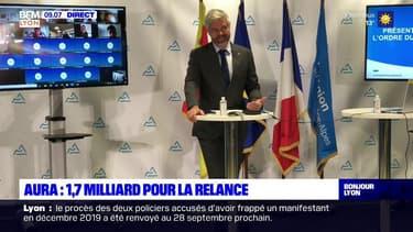 Auvergne-Rhône-Alpes: Laurent Wauquiez fait voter son plan de relance