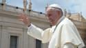 Le pape François au Vatican, le 17 juin 2015.