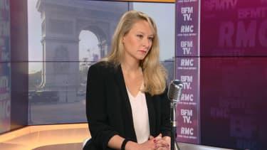 Marion Maréchal, directrice de l'Issep, le 29 avril 2021