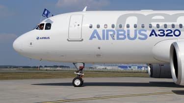 Un Airbus A320Neo, à Toulouse-Blagnac, le 25 septembre 2014.