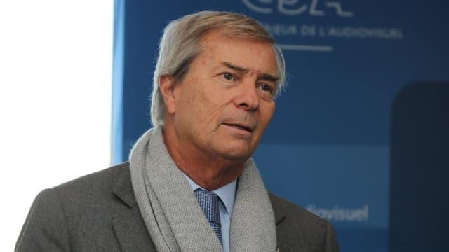 Vincent Bolloré a empoché 3,25 millions d'euros de salaire brut l'an dernier