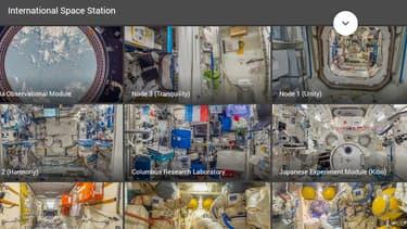 Il est désormais possible de visiter l'ISS....depuis son ordinateur.