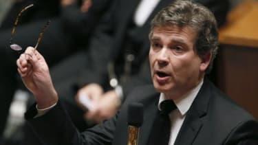 Arnaud Montebourg, le ministre du Redressement productif, poursuit son offensive contre l'euro fort