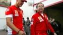 Michael Schumacher et Jean Todt en 2007