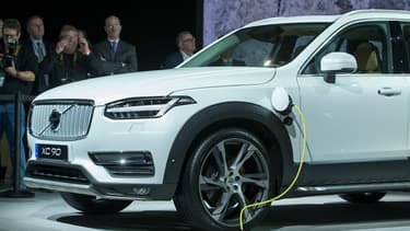 Au salon de Shanghai, Volvo dévoilera la S60L T6 Twin Engine. Ci-dessusn la XC90 plug-in Hybrid.