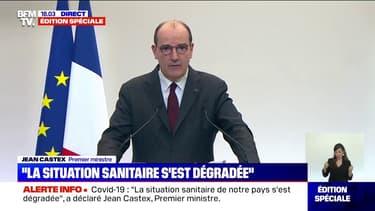 """Jean Castex: """"Il faut tout faire pour retarder le confinement pour laisser à la vaccination le temps de produire des effets"""""""