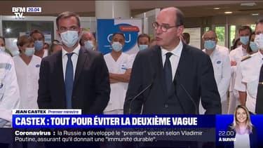Coronavirus: Jean Castex appelle les Français à se ressaisir face au risque de deuxième vague