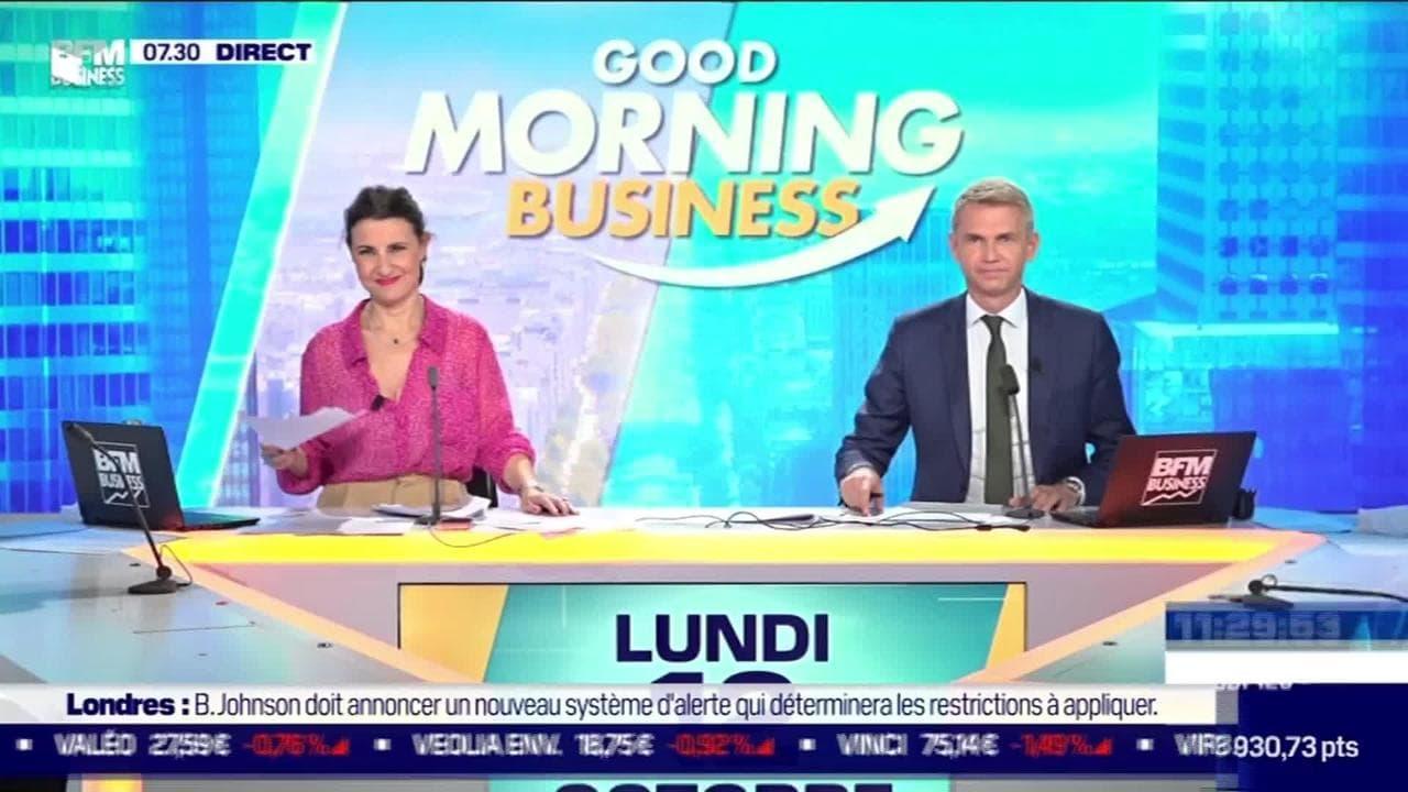 Good Morning Business - Lundi 12 octobre