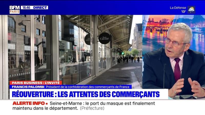 Paris Business: Les attentes des commerçants pour la réouverture - 18/05